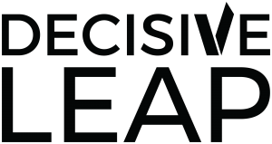 Decisive Leap Logo - Black